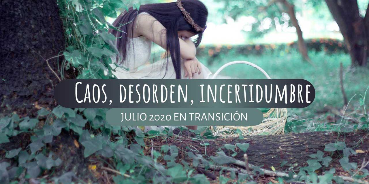 Energía mes de Julio 2020. Caos, desorden e incertidumbre.